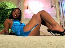 Ebony Legs That Go For Miles