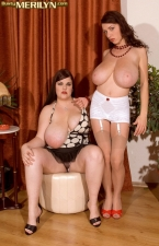 Merilyn And Jelena A Spanking Admirable Time