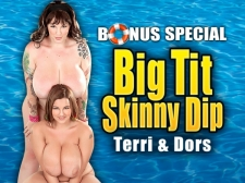 Big Tit Slender Dip: Terri Jane & Dors Feline